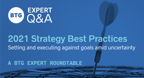 2021 Strategy Best Practices