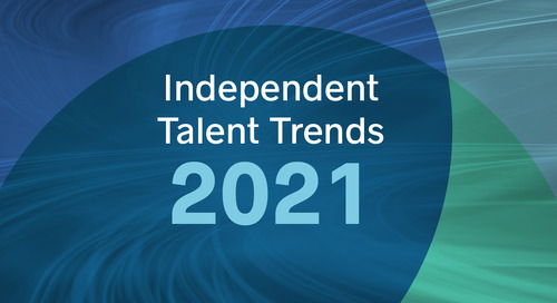 Independent Talent Trends for 2021, Revealed