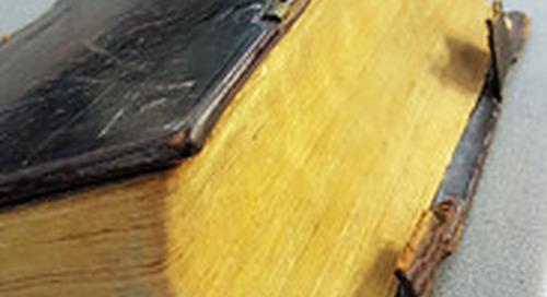 Cataloger's Corner: 1743 Bible designed by Christoph Sauer