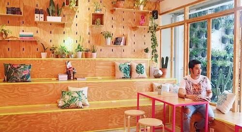 Cafe dengan Nuansa Pink di Bandung + REVIEW!