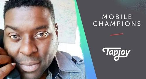 Tapjoy Mobile Champions: Tie Davidson of Tapjoy