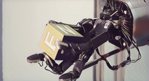 A nimble robotic hand that learns on its own