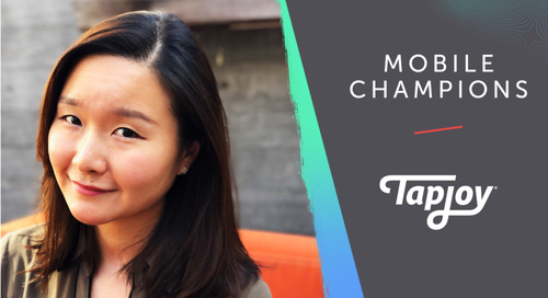 Tapjoy Mobile Champions: Jennifer Cho of Tapjoy