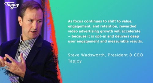 AppsFlyer: Tapjoy CEO on the Challenge of Transparency in Programmatic Advertising