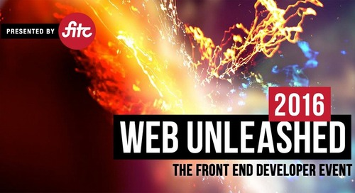 3 Lessons Learned from Web Unleashed 2016