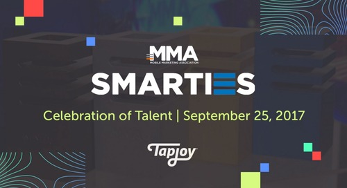 Tapjoy's Emily McInerney Wins MMA Smarties Award for Galvanizing the Industry Around Games