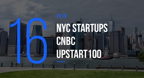 These 16 NYC Startups Made CNBC's Upstart100 for 2018