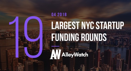 These 19 NYC Startups Raised the Most Capital in Q4 2018
