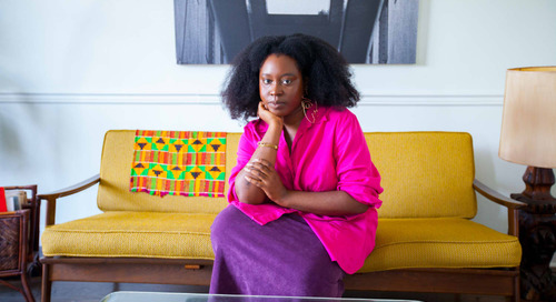 HuffPost Senior Culture Writer Zeba Blay's Afro-Boho Home