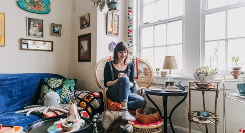 A 450-Square-Foot Apartment Proves You Can Be a Maximalist in a Small Space