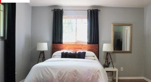 Before and After: This Furniture 'Dumping Ground' Gets a Master Makeover