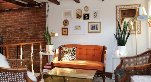 Why Brass Trunks Are My Favorite Way to Tie a Room Together