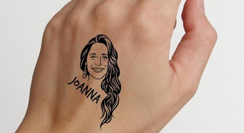 You Can Declare Your Love for Your BFF With This Temporary Tattoo of Their Face