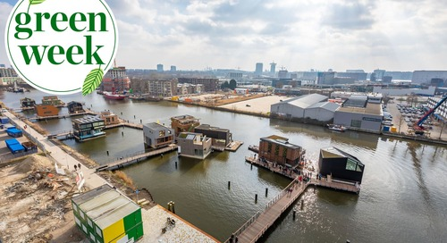 This Floating Neighborhood in Amsterdam Offers a Sustainable Solution for Crowded Cities