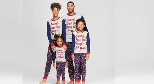 Target Sells Matching Harry Potter Pajamas for the Entire Family