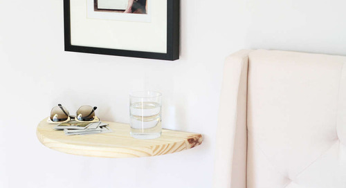 How to Make A Quick Floating Shelf with Invisible Brackets