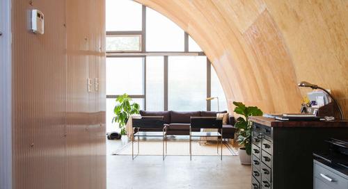 An Event Planner's Modern, Quiet Quonset Hut in Detroit — House Tour