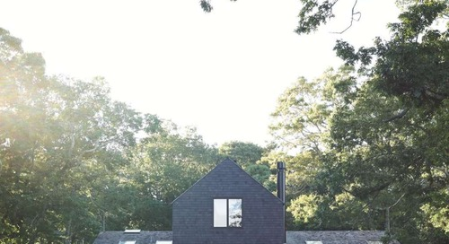 Scandinavian Stacked Barn?! Check Out Maxwell's New Hamptons Home