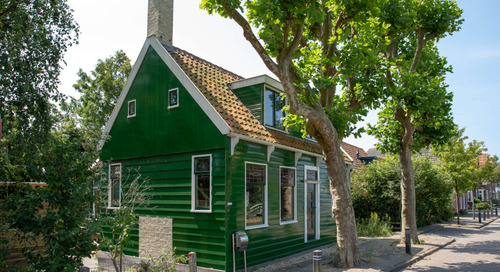 A Traditional Wooden House in The Netherlands Was Built by Windmill Restorers — House Tour