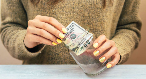 "5 Small Steps to Get Over Your Money Anxiety, from the Author of ""Bad With Money"""