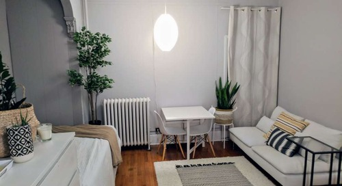 A Teeny Studio Apartment Is Well-Designed and Incredibly Cozy — House Call