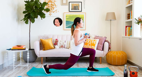 The Total-Body Workout You Can Do at Home (in Your Living Room)