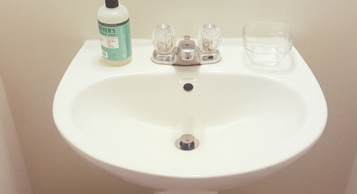 Before and After: This Remarkable Small Bathroom Refresh Was Only $100