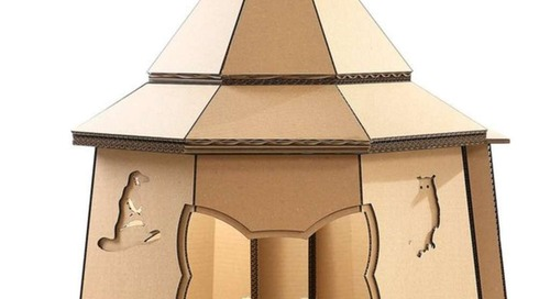 You Can Buy a Cardboard House For Your Cat Based on Your Favorite TV Shows and Movies