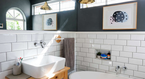 25 Genius Design & Storage Ideas for Your Small Bathroom
