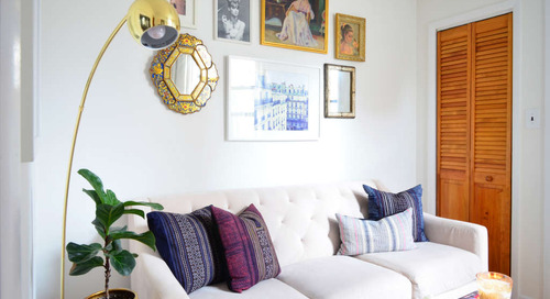 Small and Chic in Chelsea, in only 385 Square Feet — House Tour