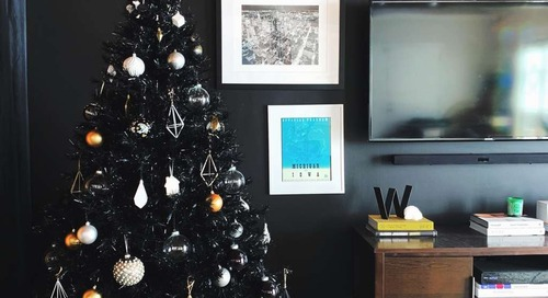 Why You'll Love that Black Christmas Tree Trend (Trust Me, I'm 9 Years In)