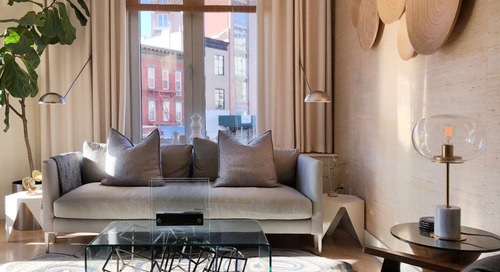 A Luxe Long Island City Condo Is Perfect for Lounge Parties — House Call