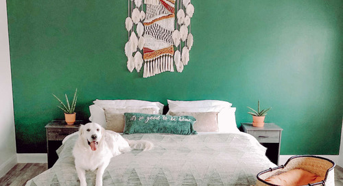 First-Time Home Buyers Make a Desert Boho Dallas House — House Call