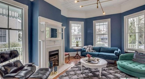 Look Inside: $370K Savannah Home Perfectly Mixes New and Old