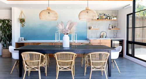 An Interior Designer's Eclectic Coastal Mid-Mod Reno — House Tour