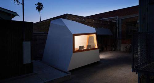 This 150-Square-Foot Pod Is a Tiny Office on Wheels