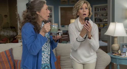 Get the Look: Grace and Frankie's Coastal Cool Beach House