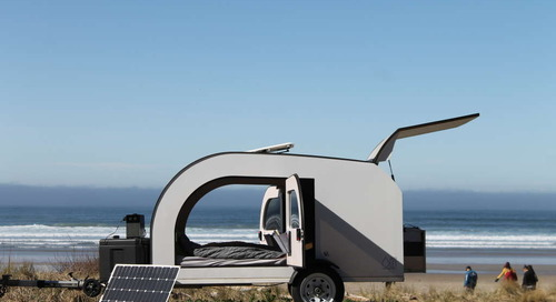 This Scandinavian-Inspired Tiny Camper Is Bright and Airy