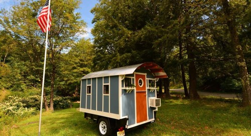 6 Tiny Houses on Wheels to Buy on Etsy, Starting at $7K