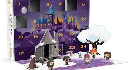 This Harry Potter Advent Calendar Will Make Your Holidays Magical