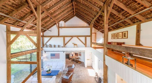 5 Gorgeous Vintage Barn Conversions You'll Want to Move Into Immediately
