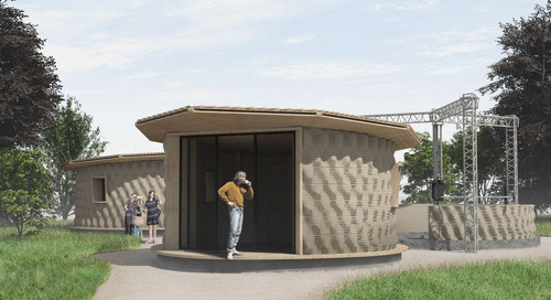 These 3D Printed Tiny Houses Are Made of Mud and Compost — And They Cost $1,000