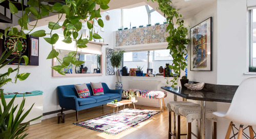 Two World Travelers and a Sunny, Plant-Filled Manhattan Loft — House Tour