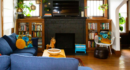 "See Why a Kansas City House is Called ""The Boozy Bungalow"" — House Tour"