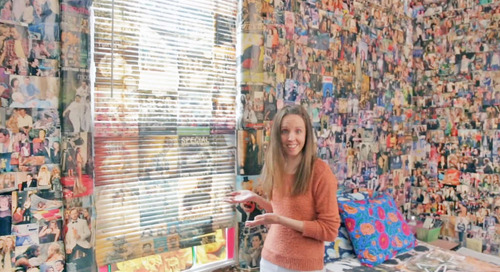 Nearly Every Inch of This Bronx Apartment Is Covered in Cutouts — Video House Tour