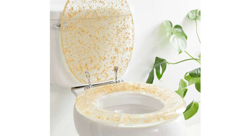 Urban Outfitters Sells a Gold-Flecked Toilet Seat That Will Make You Feel Like a Queen