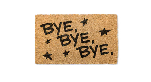 "You Can Buy This *NSYNC Doormat – But Get It Now Before It Goes ""Bye Bye Bye"""