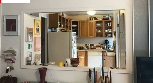 Before and After: This Remodeled Scandi-Style IKEA Kitchen Is *Chef's Kiss*