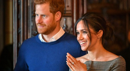 Royal Collection Releases a $40 Replica of Meghan Markle's Engagement Ring