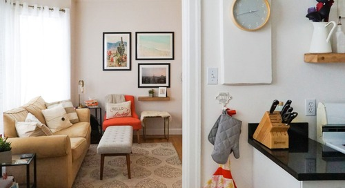 A 450-Square-Foot San Francisco Studio Is Small, But Ultra Cozy — House Call
